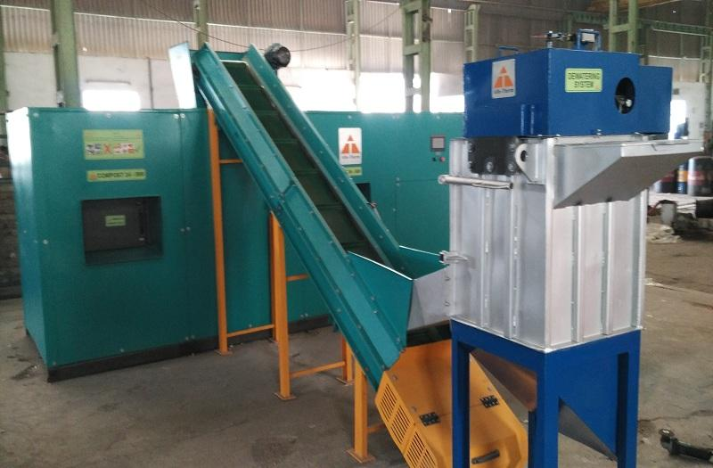 COMPOST-24 SERIES FULLY AUTOMATIC WITH INBUILT SHREDDER
